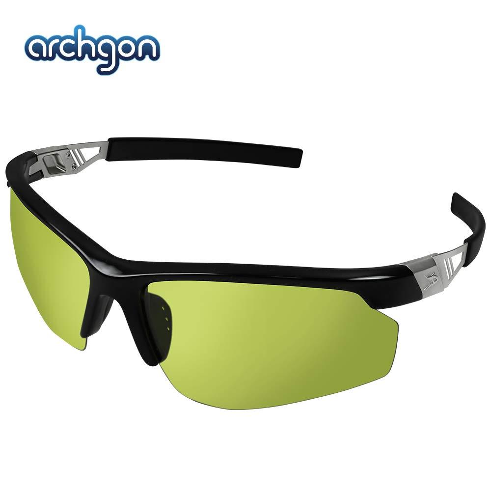 Archgon GL-ES3104K Gaming Glasses Anti-Blue Light Glasses, Flat Glasses, Computer Glasses, Anti UV, SGS Test, FDA Approved