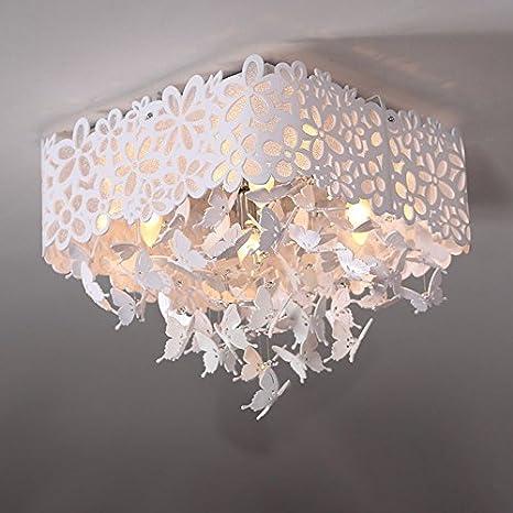 Romantic Crystal Girl habitación de Mariposas hueca de ...