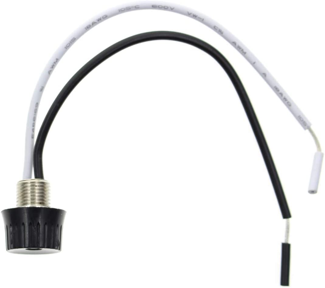 """18AWG 5PCS New Rotary Stye On//Off Canopy Switches 3//1 amps at 125//250,4/"""" Wire"""