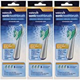 Waterpik SRRB-3W Sensonic Replacement Toothbrushes (Standard Head Size) 9 Count