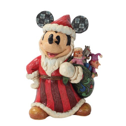 Enesco Disney Traditions by Jim Shore Old World St. Mick Figurine, 7-Inch