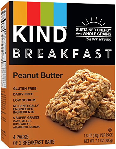 KIND Breakfast Bar Peanut Butter - 4 CT