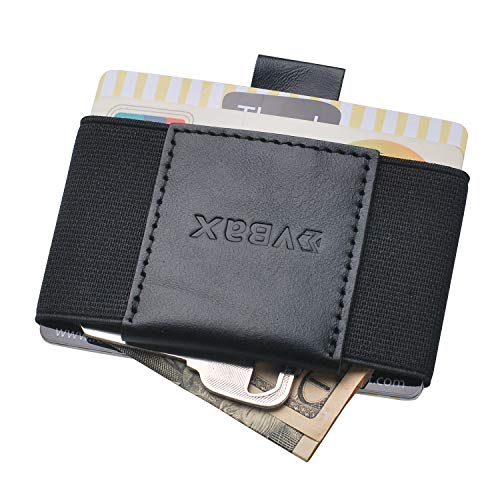 Minimalist-Slim-Wallet-For-Men-Women-Elastic-Thin-Front-Pocket-Credit-Card-Holder