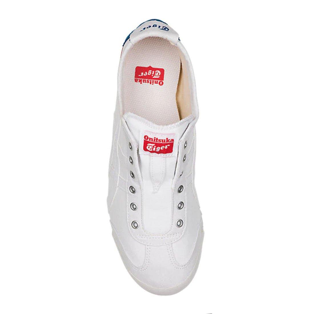 Onitsuka Tiger Mexico 66 Slip-On Classic Running Sneaker B07DRJZJ14 13 M US|White/White 2