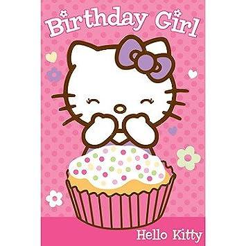 Hello Kitty Tarjeta del feliz cumpleaños: Amazon.es: Electrónica