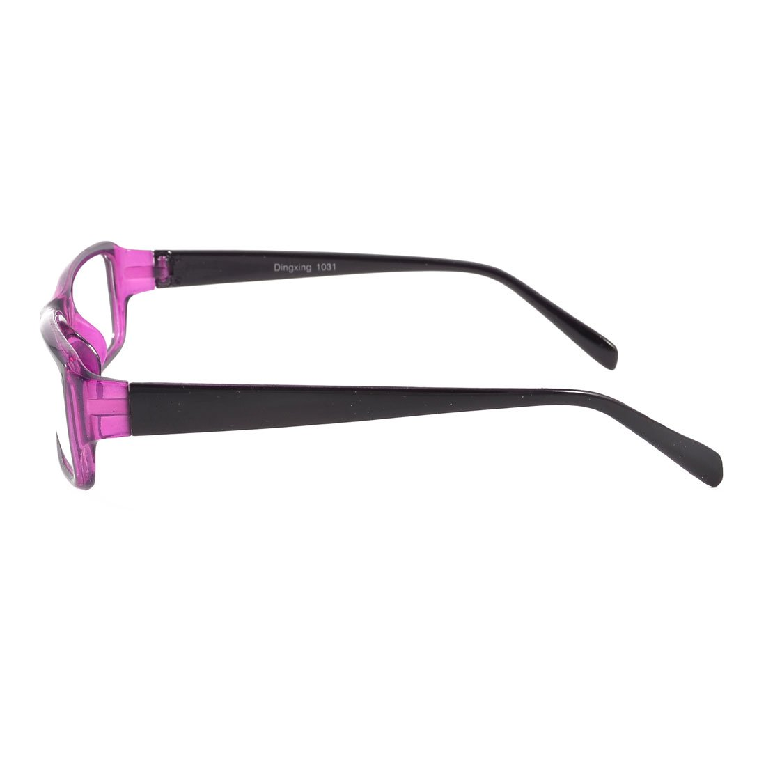 sourcingmap® Damen Brillen Lila Schwarzes Plastik Full-frame ...