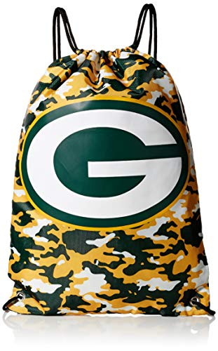 Green Bay Packers Drawstring Backpack - Camouflage