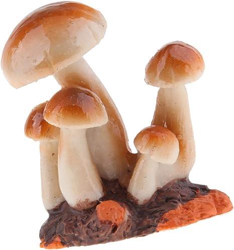 Amazon.es: Fenteer Decoración De La Mesa De Hongos En Miniatura - Setas En Miniatura De Resina De Hadas del Jardín - Marrón b: Juguetes y juegos