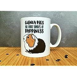 Guinea Pig Mug, Guinea Pig Gift, Guinea Pig Fan, Guinea Pig Lover Gift, Cute Guinea Pig, Guinea Pig Illustration, Guinea Christmas Gift