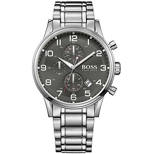 Hugo Boss 1513181 Aeroliner Mens Watch - Grey Dial