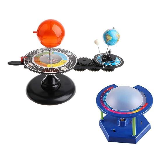 SM SunniMix Modelo Orbital de Sistema Solar de Tierra Sol y Luna ...