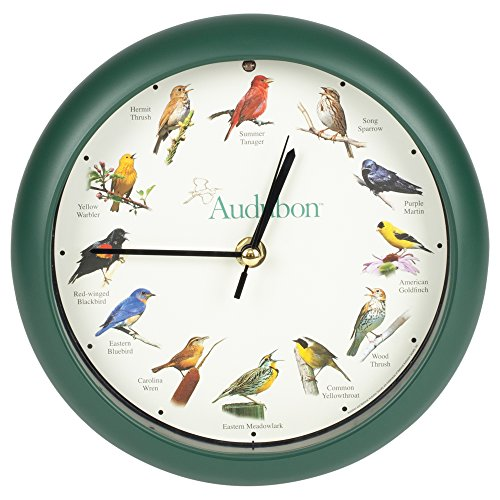 Mark Feldstein Associates Audubon Singing Bird Clock, 8