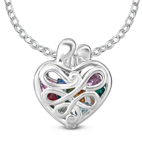 Open Filigree Heart Locket - 1