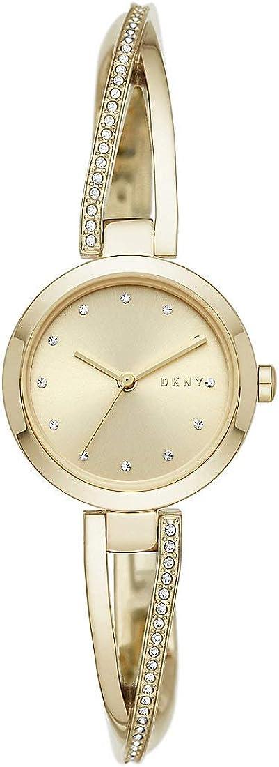 Reloj DKNY - Crosswalk NY2830 Oro eobuwie 4013496586176