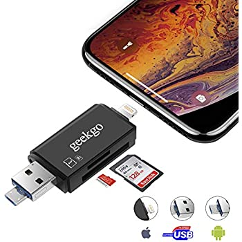 Amazon.com: SD Card Reader, VOGEK 3-in-1 USB 3.0 / USB C ...
