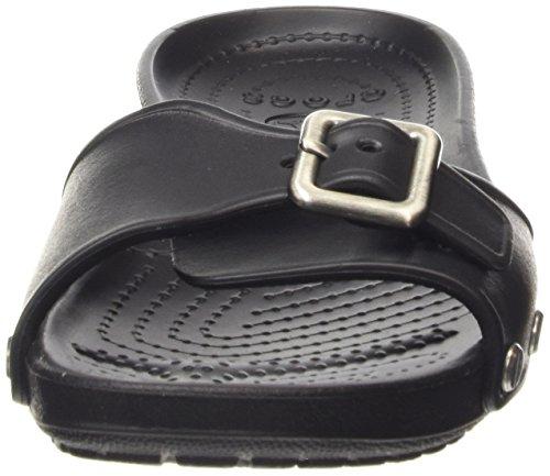 Femme Black W Crocs Sarah Black Sandales Noir 4Tqxtxvw