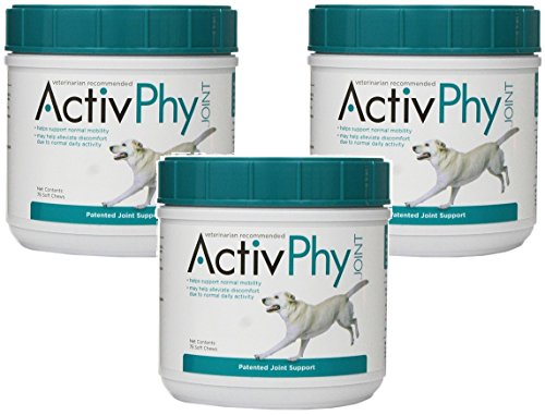 (3 Pack) Activphy Joint Support Soft Chews For Dogs, 75 Count each Review