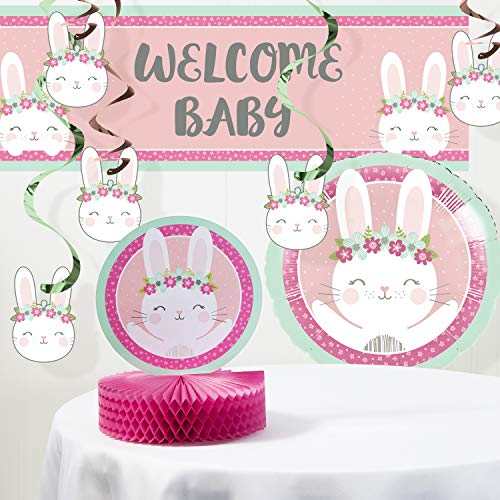 Bunny Party Baby Shower Decorations Kit