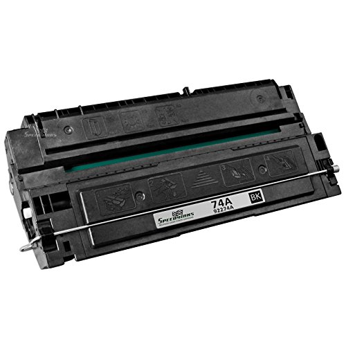Speedy Inks - Remanufactured Replacement for HP 74A HP 92274A Black Laser Toner Cartridge for use in HP LaserJet 4L, HP LaserJet 4mL, HP LaserJet 4mp, HP LaserJet 4p (4p Laser Printer)