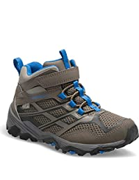 Merrell Boy's Ml-B Moab Mid Ac Waterproof Ankle Boots