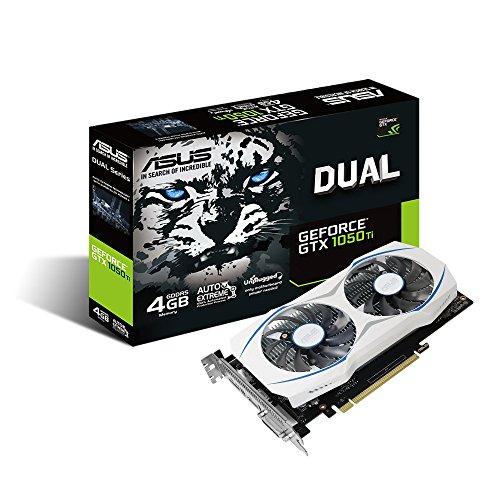 Geforce Dual Fan Graphics DUAL GTX1050TI O4G Graphic