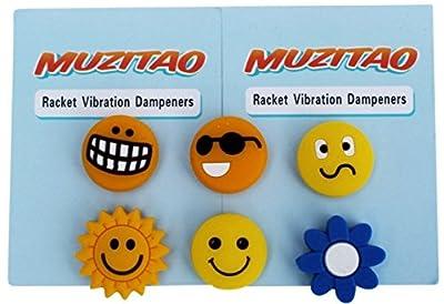 Tennis Vibration Dampeners (6 Pack)