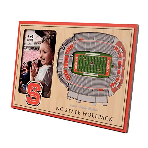 NCAA NC State Wolfpack 3D StadiumViews Picture Frame