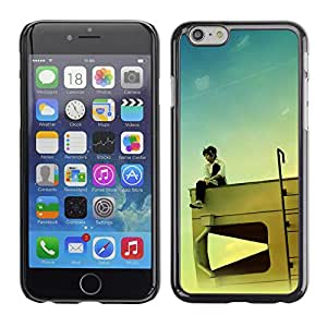 Paccase / SLIM PC / Aliminium Casa Carcasa Funda Case Cover - Design RV Kid - Apple Iphone 6 Plus 5.5