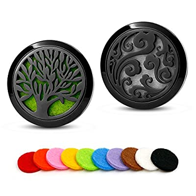 Aromatherapy Essential oil Car Diffusers Vent Clip-3 Colors