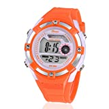 Digital Alarm Quartz Water Resistant girls Watches Chronograph