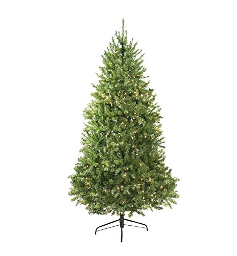 Northlight Pre-Lit Northern Pine Full Artificial Christmas Tree with Clear Lights, ()