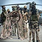 YAOBAO Filet De Camouflage, Filet Tactique en Filet Camo Écharpe Sniper Voile, Camouflez Votre Cou, Votre Visage Et… 9