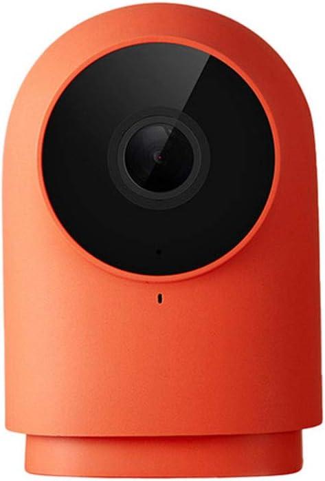 Cámara inalámbrica MIJIA Aqara Zigbee con concentrador, 1080HD Detección de 140 Grados AI Cámaras de vigilancia de Voz en Tiempo Real con Mihome HomeKit Aplicación Control Inteligente (Rojo)