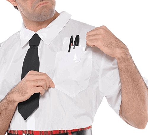 Nerd Pocket Protector Costume - Nerd Protector With Pocket