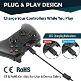 Insten for Xbox One 2-Pack Rechargeable Li-ion