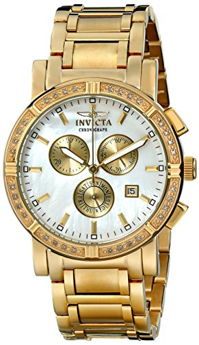- Invicta Men's 4743 II Collection Limited Edition Diamond Gold-Tone Watch