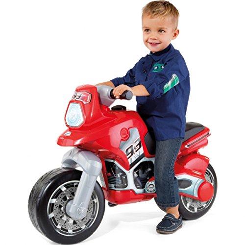 XL Rutschermotorrad, breite Reifen, für Innen und Außen, 91 x 63 cm - XL Kinder Motorrad Rutscher Roller Rutschfahrzeug Kinderbike Lauflernrad Laufrad