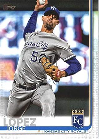 Amazoncom 2019 Topps 651 Jorge Lopez Kansas City Royals