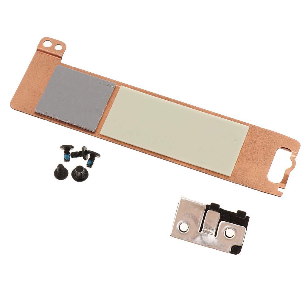 Soporte X3DN4 perfk Repuesto SSD Caddy 2FFR0 4 Piezas Tornillos de Montaje Piezas para Dell Latitude E5580 5490 5480 Precisi/ón 3520 M.2