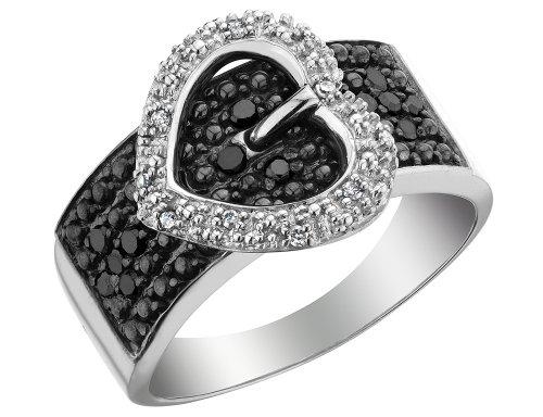 Black Diamond Buckle Ring - 3