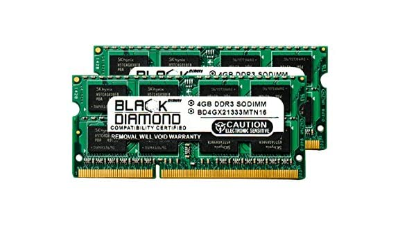 8GB Memory PC3-10600 SODIMM For HP PROBOOK 6440B 2x4GB