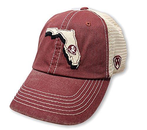 Florida State University Baseball (Florida State Seminoles Off Road Hat - Garnet)