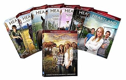 Heartland: The Complete Seasons 1, 2, 3, 4, 5, 6, 7, 8 [DVD Complete Box Set 1-8]