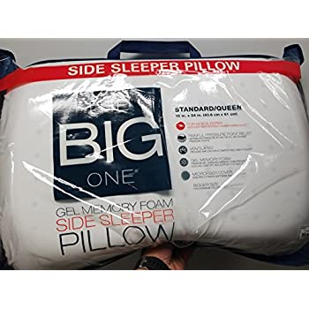 Amazon Com The Big One Gel Memory Foam Side Sleeper