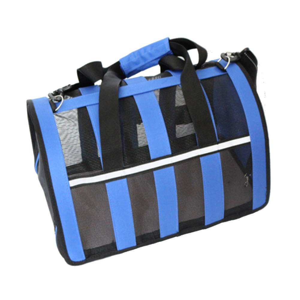 bluee Small bluee Small Pet Carrier Compatible Dog and Cats, Airline Approved Bag, Travel Collapsible for Small Puppy Up to 5Kg, Soft Side Dog Crate, Portable Kennel for Puppies