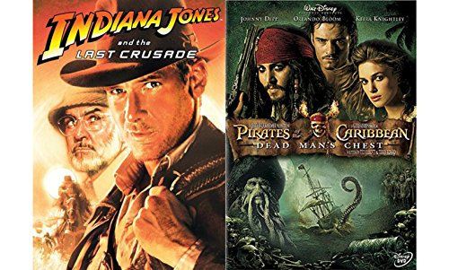 Adventure Collection: Indiana Jones and the Last Crusade & Pirates of the Caribbean: Dead Man's Chest 2-Movie Bundle