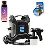 Belloccio Ultra Pro T85-QC High Performance Sunless Turbine Spray Tanning System; Free 4 oz. Opulence Tanning Solution & Free User Guide DVD