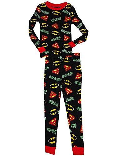 Justice League Boys Sleeve Pajamas product image