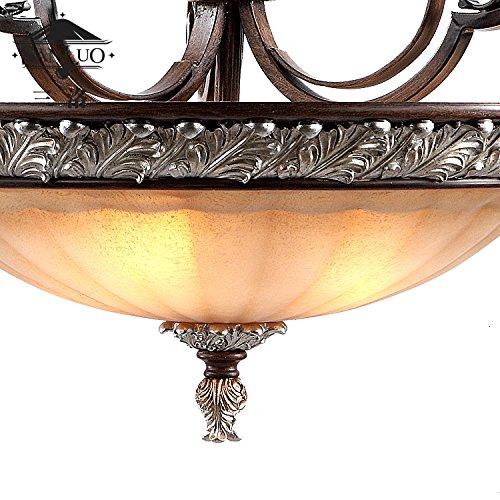 Amazon.com: YPOSION - Lámpara de techo circular con balcones ...