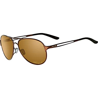 119386a8ee Amazon.com  Oakley Caveat Women s Polarized Sunglasses - Brunette ...